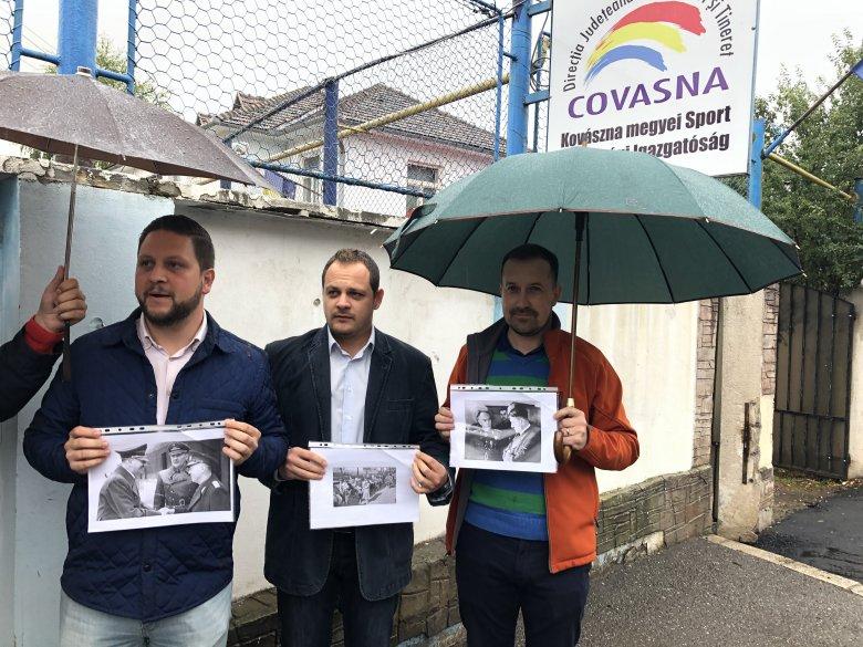HÁRIT: mondjon le a román háborús bűnös kultuszát népszerűsítő háromszéki sportigazgató