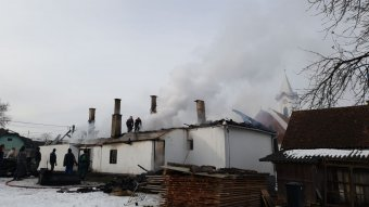 Gyűl a pénz a sepsibükszádi leégett plébánia újjáépítésére