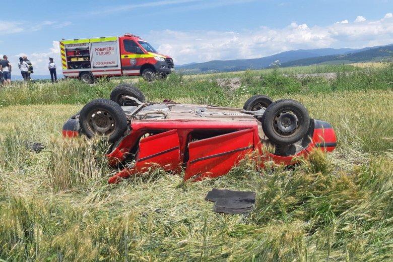 Tizenkét személy sérült meg egy balesetben Zágon és Imecsfalva között