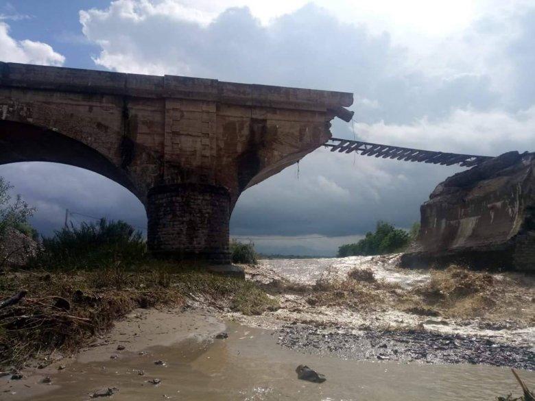 Harmincmillió lejt szánnak az áradáskor összeomlott bodolai vasúti híd építésére