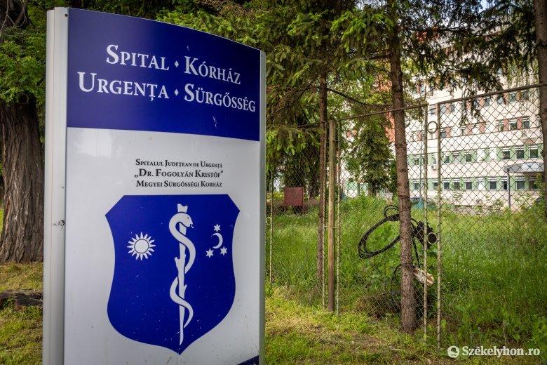 Nincs koronavírus-fertőzött a sepsiszentgyörgyi kórházban