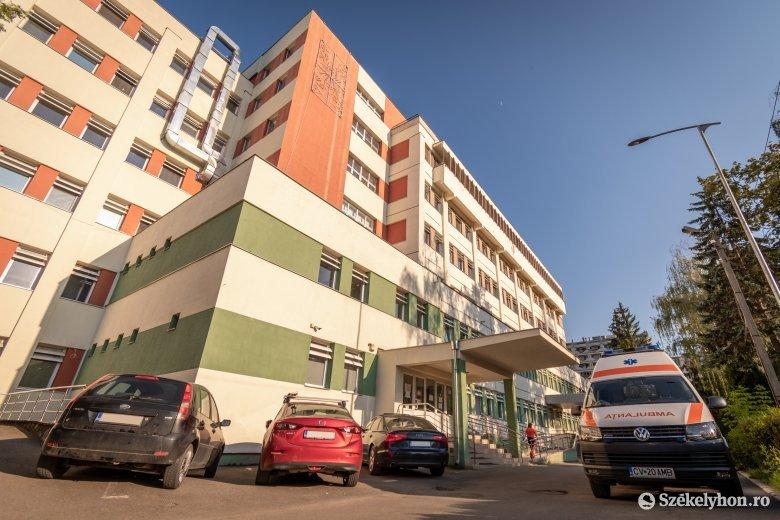 Szinte felére csökkent a sepsiszentgyörgyi kórházban koronavírus-fertőzöttek száma