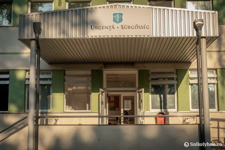 Mulasztással vádolja a sepsiszentgyörgyi kórház sürgősségi osztályát egy beteg