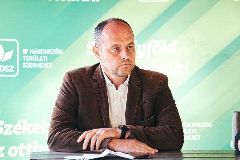 Grüman Róbert helyett új alelnöke lesz Kovászna Megye Tanácsának