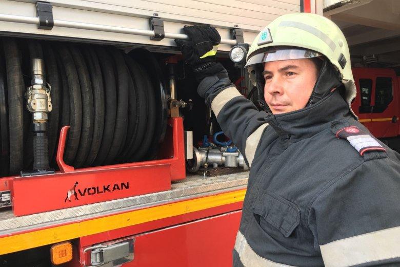 Mozgalmasan telt egy sepsiszentgyörgyi tűzoltó születésnapja