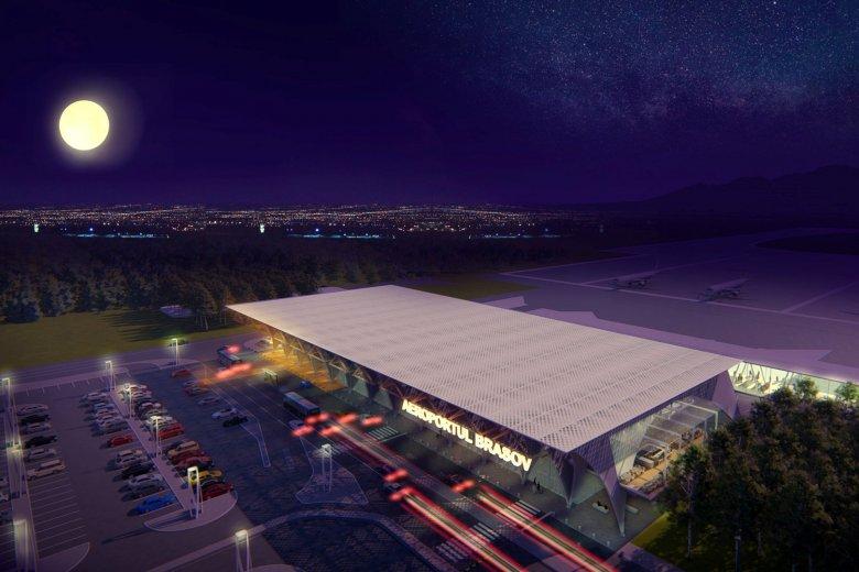 Brassói reptér: kezdődik az utasterminál építése