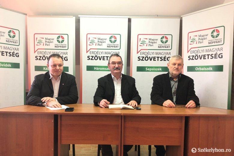 Háromszéken megméretkeznek az Erdélyi Magyar Szövetség jelöltjei