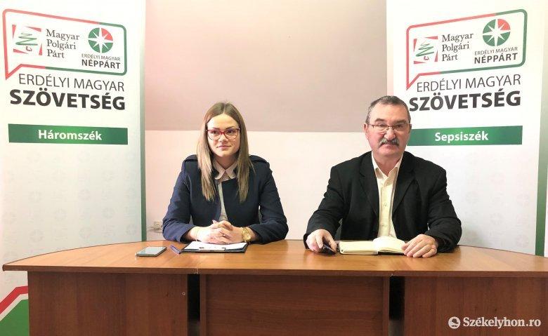 Tatár Imolát indítja Sepsiszentgyörgy polgármesteri székéért az EMSZ, Balázs Attilát pedig Kézdivásárhelyen