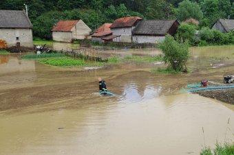 Újabb áradás Bodzavidéken