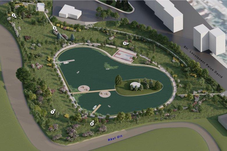 Befejeződött a régészeti feltárás, kezdődhet a sepsiszentgyörgyi Állomás-negyedi tó és környékének átalakítása