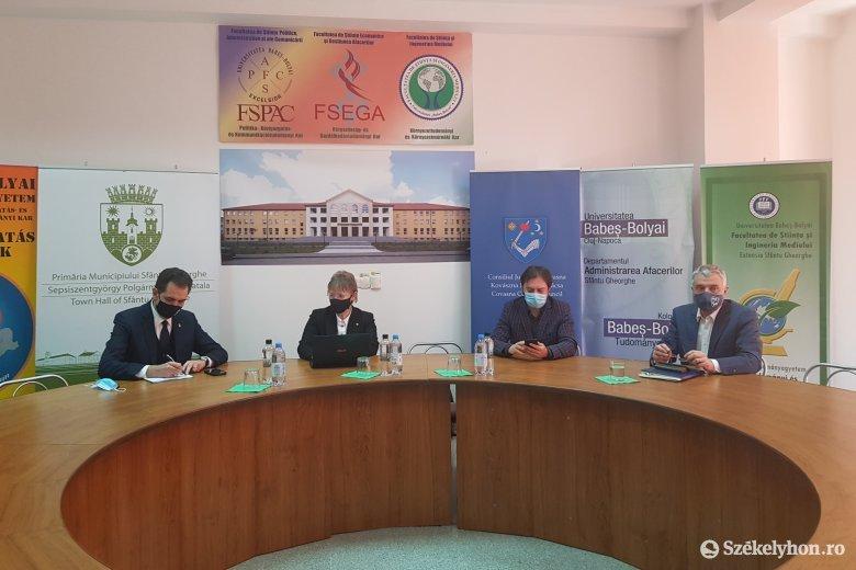 Stratégiai együttműködést tervez a BBTE a háromszéki önkormányzatokkal