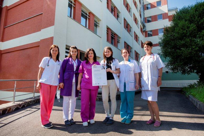 Az ország legjobbjai között a sepsiszentgyörgyi kórház a stroke ellátásában