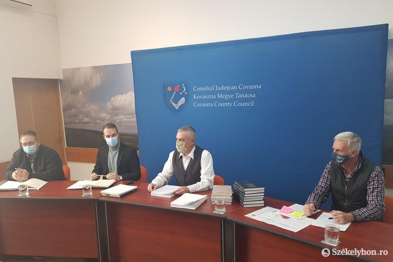 Nemcsak négy, hanem az elkövetkező tíz évre is elég terve van a Kovászna megyei önkormányzatnak