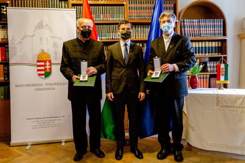 Igenekre épített életek – magyar állami kitüntetéseket adtak át Sepsiszentgyörgyön