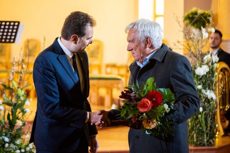 Kiss Jenő az idei sepsiszentgyörgyi Pro Urbe díjas
