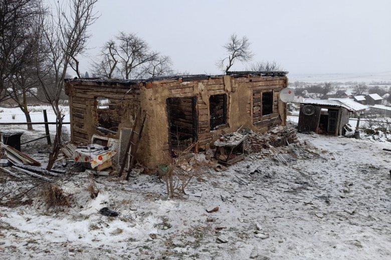 Leégett egy sepsimagyarósi család háza