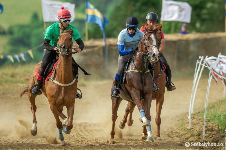 Farkaslaka lovasa a jubileumi Székely Vágta győztese