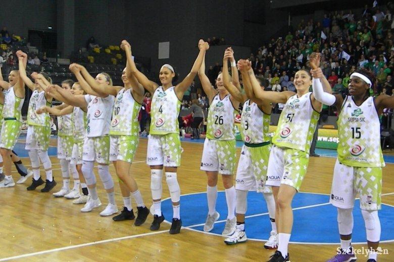 Megnyerte a Román Kupát a sepsiszentgyörgyi Sepsi SIC női kosárlabdacsapata