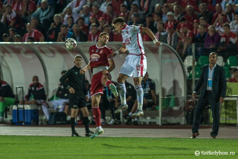 A Sepsi OSK edzője tudja, hol veszítették el a Dinamo elleni meccset