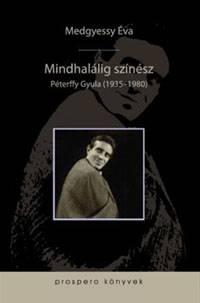 Péterffy Gyula színművész életpályáját bemutató könyvet ismertettek Kolozsvárott