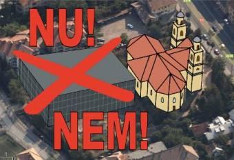 Két éven belül felépül az egyház által kifogásolt sportkomplexum a kolozsvári Kétágú templom mellé