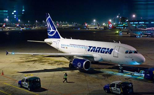 Sikkasztás gyanújával vizsgálódik a Tarom légitársaságnál a szervezett bűnözés elleni ügyosztály
