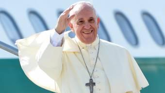 """A pápa csíksomlyói """"jelenése"""""""