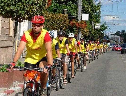 Biciklitúrás expedíción a János Zsigmond Unitárius Kollégium