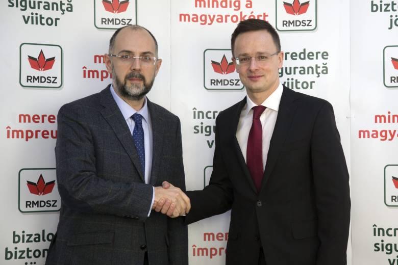 Az erdélyi gazdaságfejlesztési program folytatásáról állapodott meg Szijjártó Péter és Kelemen Hunor Budapesten