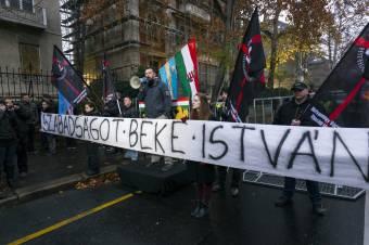 """""""Vérlázító, gyalázatos"""". A HVIM Kézdivásárhelyen és Budapesten tüntet aktivistái elítélése ellen"""
