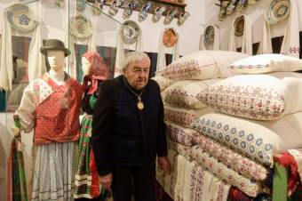 Megkétszerezte kiállító felületeit Kallós Zoltán válaszúti múzeuma
