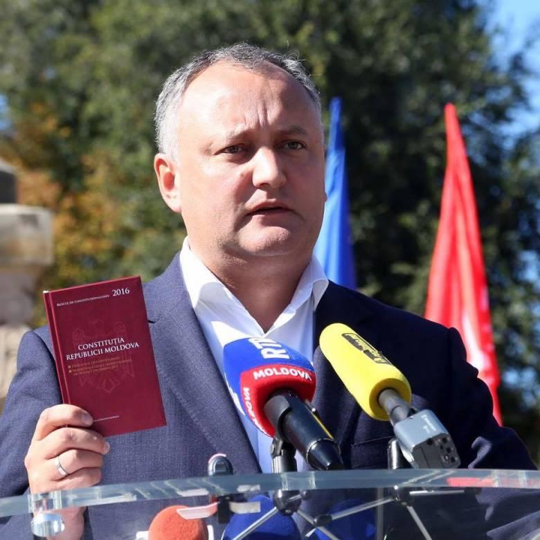 Nyugalomra int Igor Dodon, Moldova új elnöke