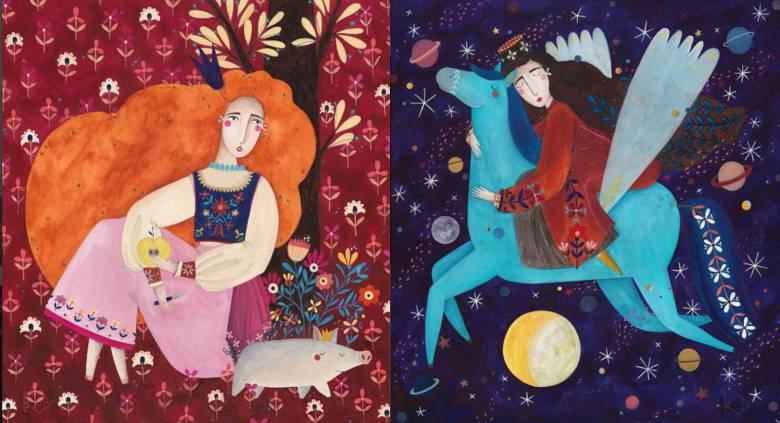 Kürti Andrea: felszabadít a gyerekkönyv-illusztrálás
