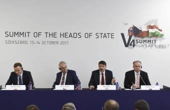 Kiálltak a Nyugat-Balkán integrációja mellett a V4 államfői
