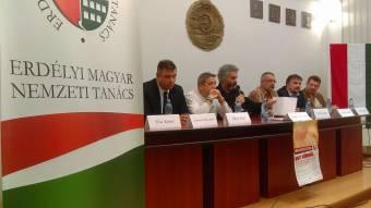 Bayer Zsolt Kolozsváron: egy csőcselékünk van