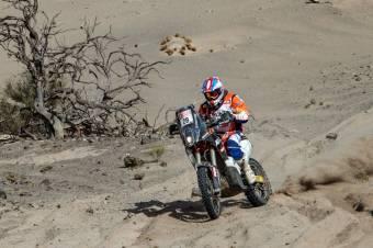 Feladta a versenyt Gyenes Emánuel a Dakar-ralin