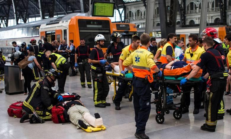 Súlyos vonatbaleset Barcelonában, román állampolgár is megsérült