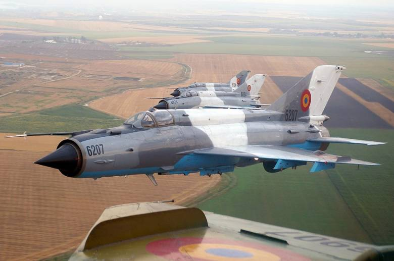Lezuhant egy MiG 21 Lancer vadászrepülőgép Szászrégen közelében