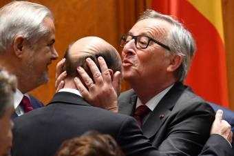 """Juncker Bukarestben: sohasem voltak """"hátrahagyott"""" tagállamok az EU-ban"""