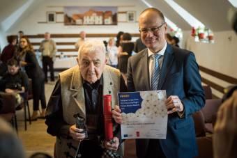 Kallós Zoltán átvette az Europa Nostra-díjat Válaszúton