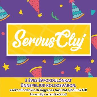 Szervusz, Kolozsvár! A Clever Taxi ingyenes utakat ajánl a kolozsvári lakosoknak (x)