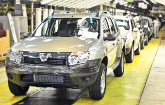 Az autógyártás a román gazdaság húzóereje – a teljes export több mint negyedét fedi le a GDP 14%-át kitevő járműipar