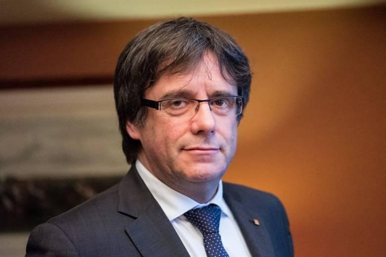 Őrizetbe vették Carles Puigdemont volt katalán elnököt