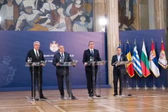 Infrastrukturális témák a román–bolgár–görög–szerb tárgyalásokon