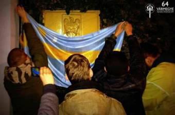 Provokációnak tartja a román külügy a HVIM budapesti akcióját