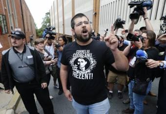 Vasgárdista szimpatizáns a charlottesville-i tüntetések egyik központi alakja
