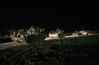 Török szárazföldi hadművelet Szíriában