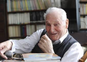 Kányádi Sándort köszöntötték 88. születésnapján Budapesten