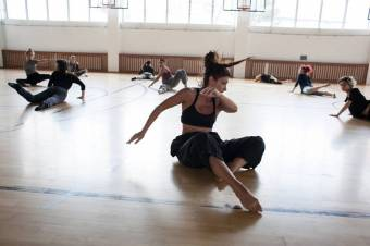 Mozgásművészeti tábor zajlik Sepsiszentgyörgyön