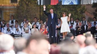 """Johannis is felszólalt a """"szép Erdélyünk történelmi szász fővárosában"""" zajló ünnepen"""